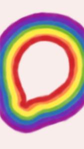 radial rainbow